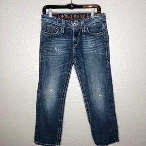 """Rock Revival """"Emilie"""" Boyfriend Cropped Jeans"""